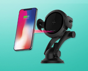 Macmerise Automatic Car Mount Wireless Charger